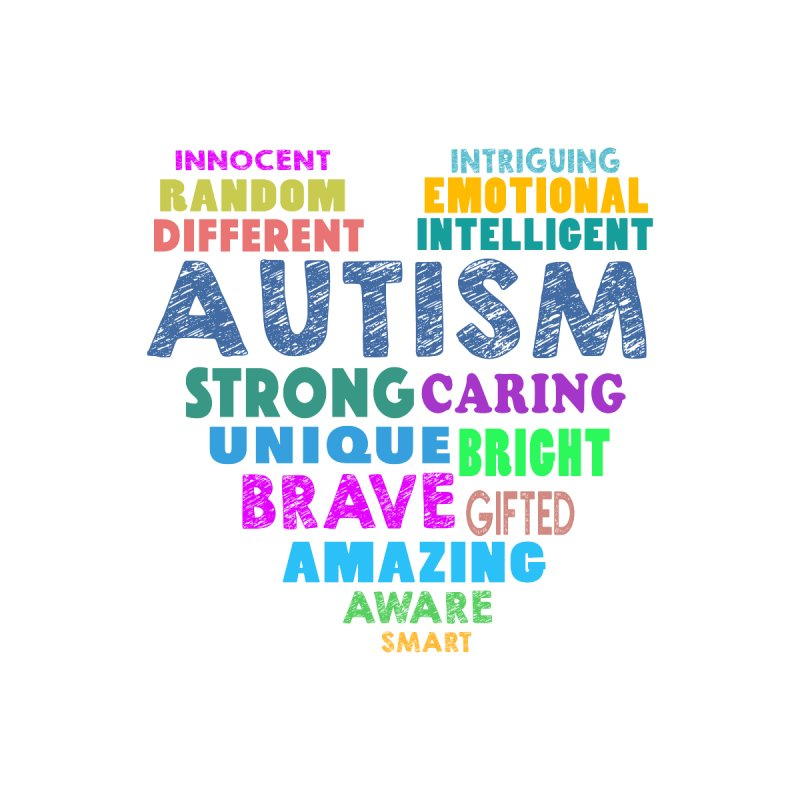 Hearty Words by Coachella Valley Autism Society of America