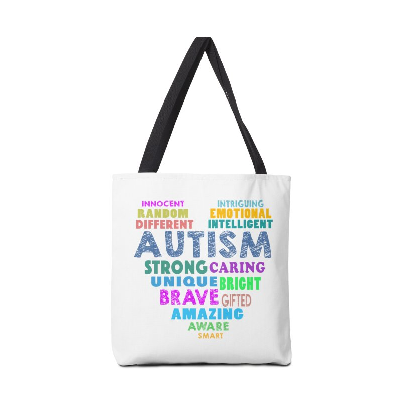 Hearty Words Accessories Bag by Coachella Valley Autism Society of America