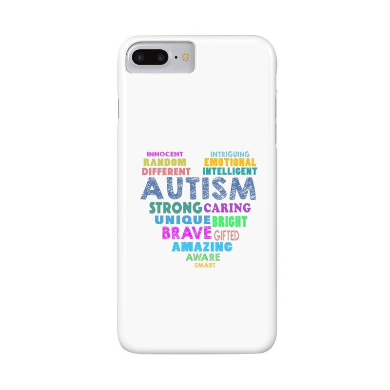 Hearty Words Accessories Phone Case by Coachella Valley Autism Society of America