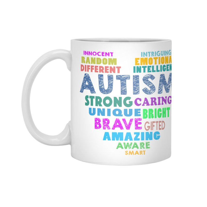 Hearty Words Accessories Standard Mug by Coachella Valley Autism Society of America
