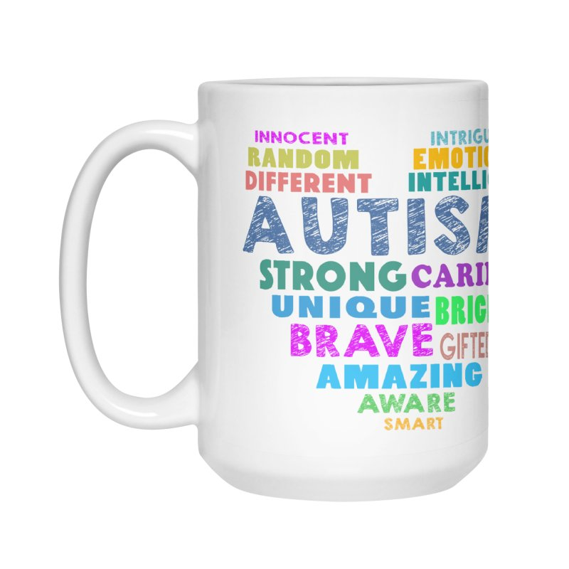 Hearty Words Accessories Mug by Coachella Valley Autism Society of America