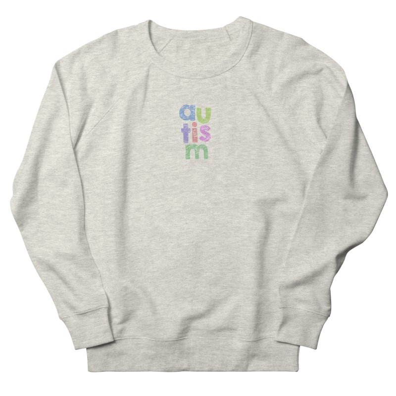 Letters Stacked Men's French Terry Sweatshirt by Coachella Valley Autism Society of America