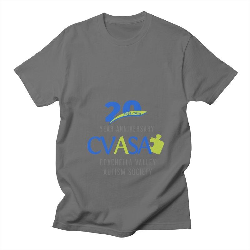 CVASA Logo Men's T-Shirt by Coachella Valley Autism Society of America