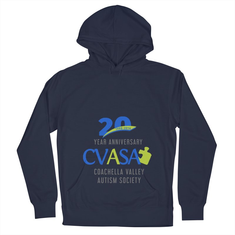 CVASA Logo Women's French Terry Pullover Hoody by Coachella Valley Autism Society of America