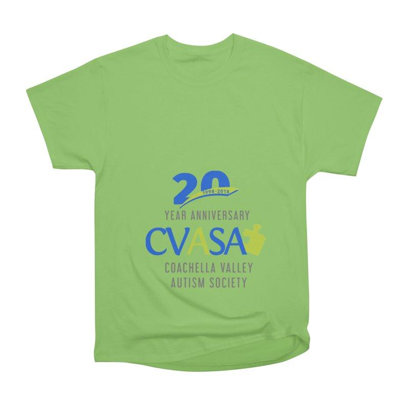 CVASA Logo Women's Heavyweight Unisex T-Shirt by Coachella Valley Autism Society of America