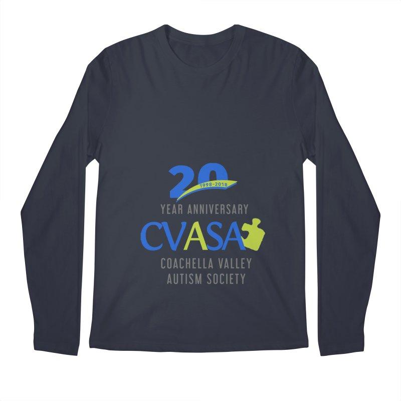 CVASA Logo Men's Regular Longsleeve T-Shirt by Coachella Valley Autism Society of America