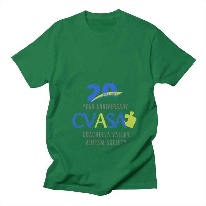 CVASA Logo Women's Regular Unisex T-Shirt by Coachella Valley Autism Society of America