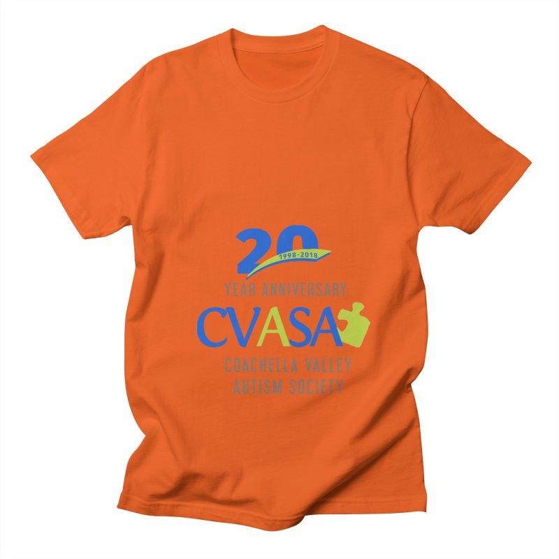 CVASA Logo Men's Regular T-Shirt by Coachella Valley Autism Society of America