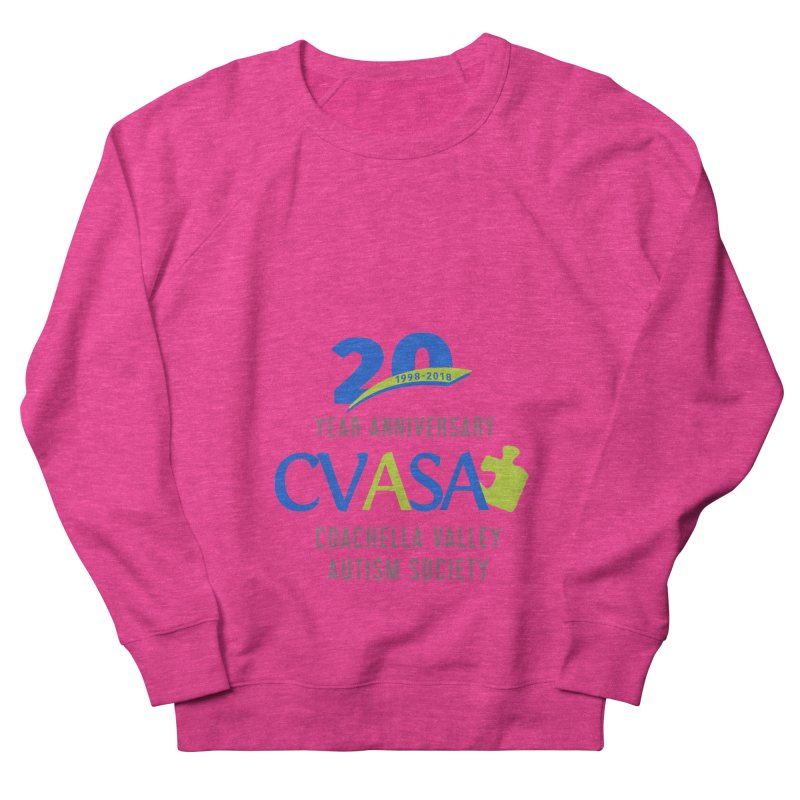 CVASA Logo Women's French Terry Sweatshirt by Coachella Valley Autism Society of America