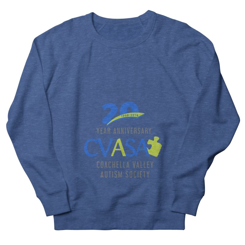 CVASA Logo Men's French Terry Sweatshirt by Coachella Valley Autism Society of America