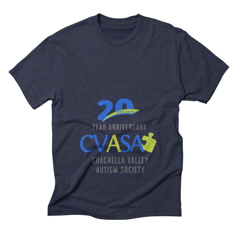 CVASA Logo Men's Triblend T-Shirt by Coachella Valley Autism Society of America