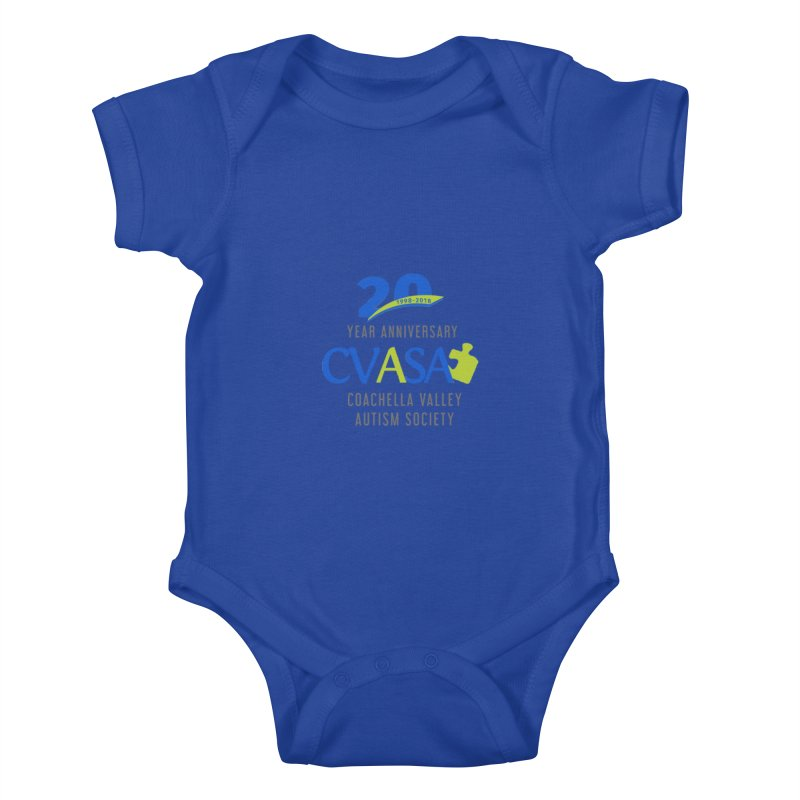 CVASA Logo Kids Baby Bodysuit by Coachella Valley Autism Society of America
