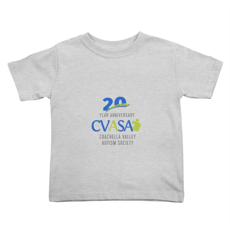 CVASA Logo Kids Toddler T-Shirt by Coachella Valley Autism Society of America
