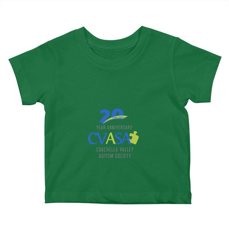 CVASA Logo Kids Baby T-Shirt by Coachella Valley Autism Society of America