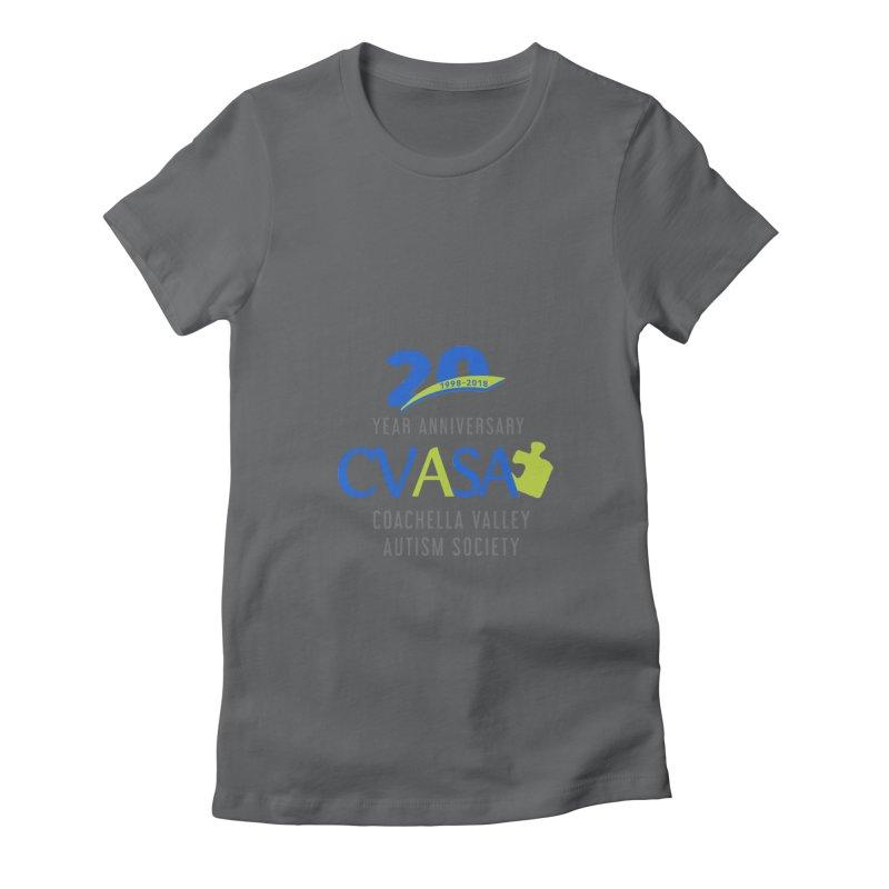 CVASA Logo Women's T-Shirt by Coachella Valley Autism Society of America