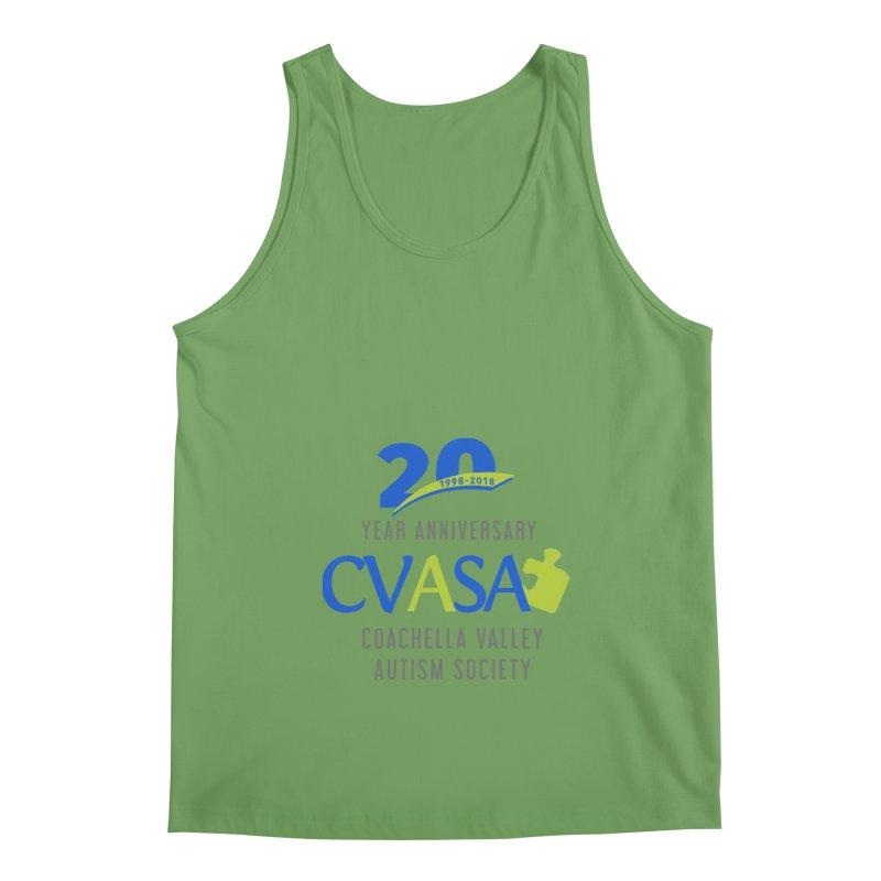 CVASA Logo Men's Tank by Coachella Valley Autism Society of America