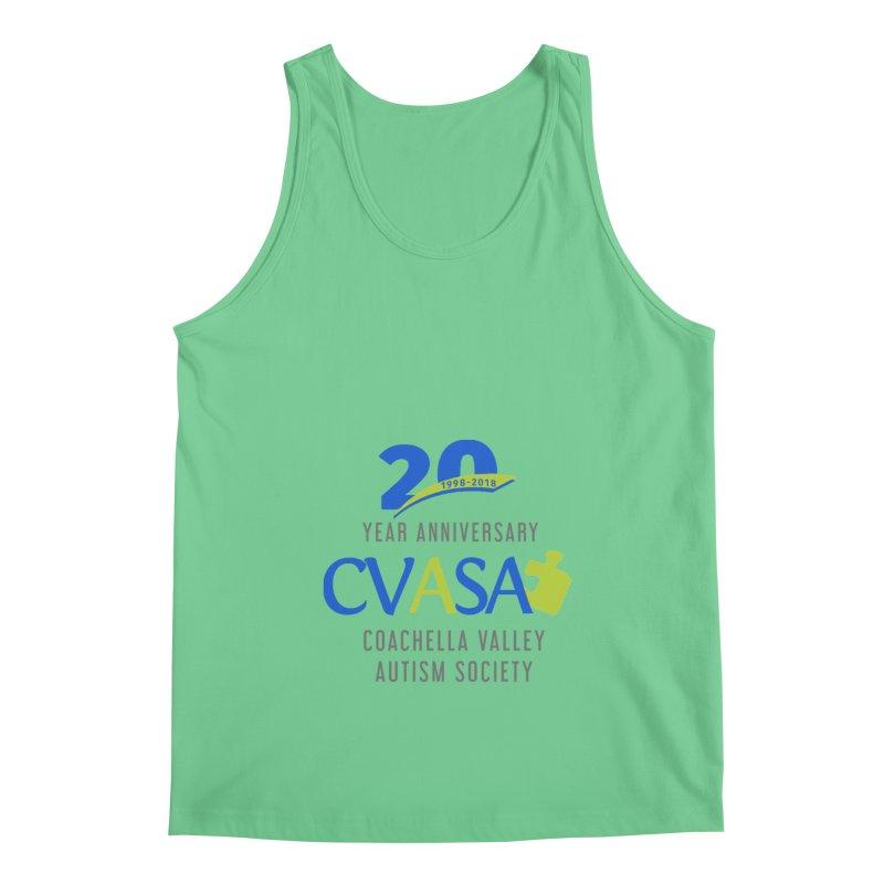 CVASA Logo Men's Regular Tank by Coachella Valley Autism Society of America