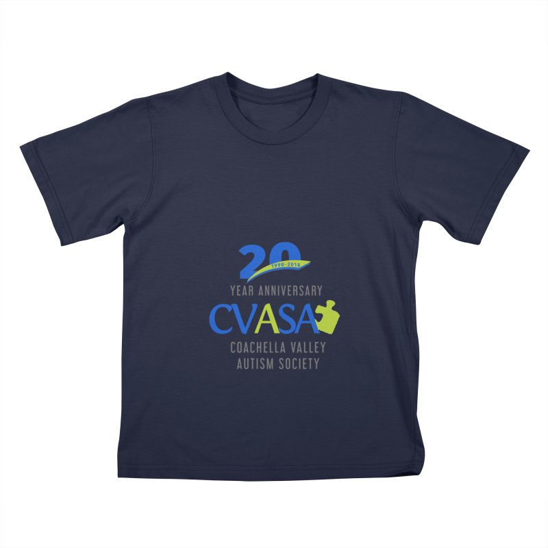 CVASA Logo Kids T-Shirt by Coachella Valley Autism Society of America
