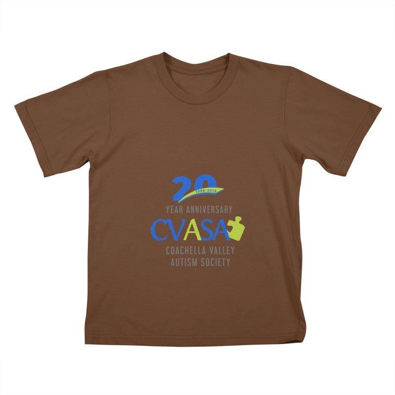 CVASA Logo Kids T-Shirt by Coachella Valley Autism Society of America
