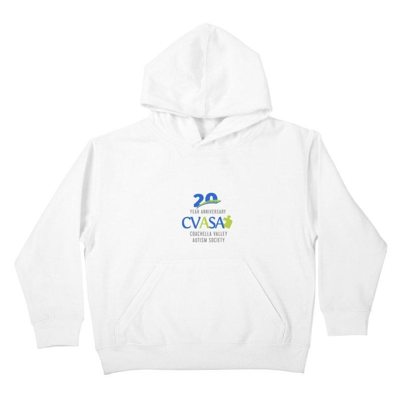 CVASA Logo Kids Pullover Hoody by Coachella Valley Autism Society of America