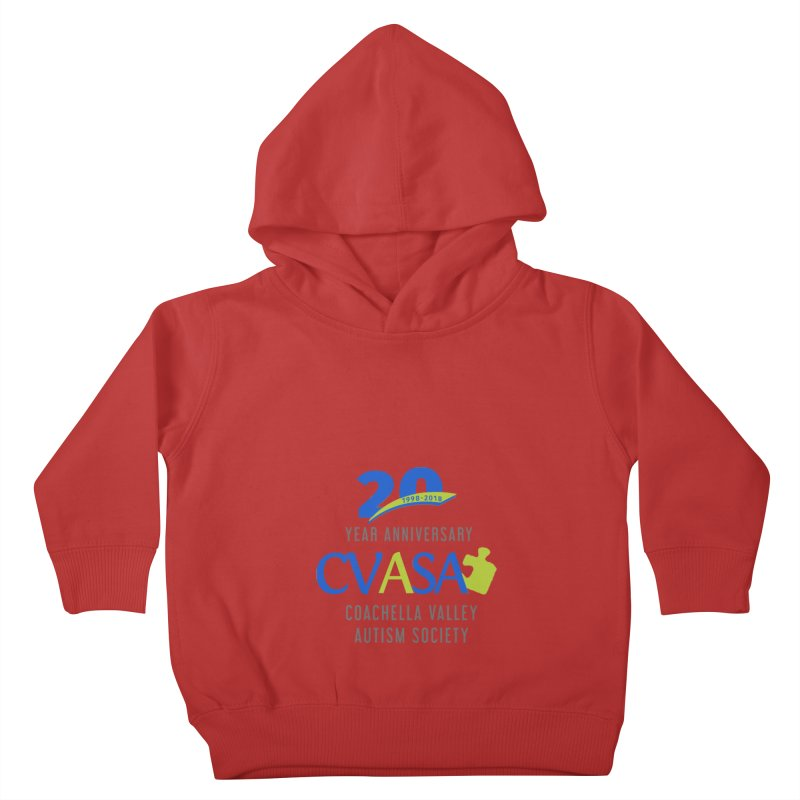 CVASA Logo Kids Toddler Pullover Hoody by Coachella Valley Autism Society of America
