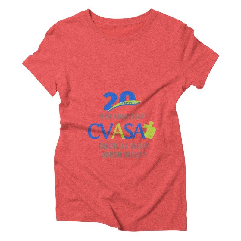 CVASA Logo Women's Triblend T-Shirt by Coachella Valley Autism Society of America