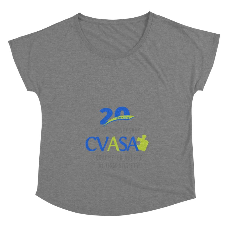 CVASA Logo Women's Scoop Neck by Coachella Valley Autism Society of America