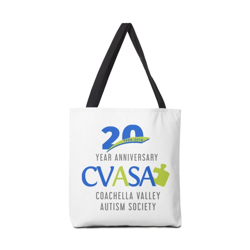 CVASA Logo Accessories Tote Bag Bag by Coachella Valley Autism Society of America