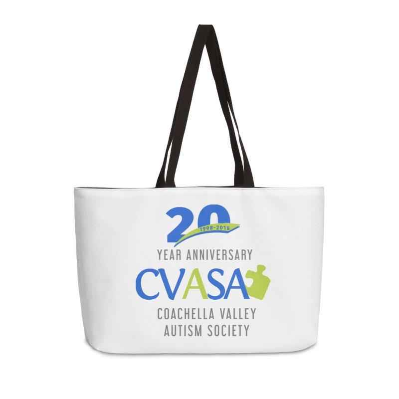 CVASA Logo Accessories Weekender Bag Bag by Coachella Valley Autism Society of America