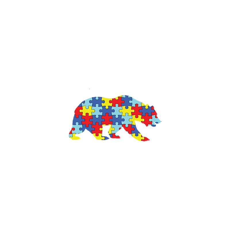California Bear by Coachella Valley Autism Society of America