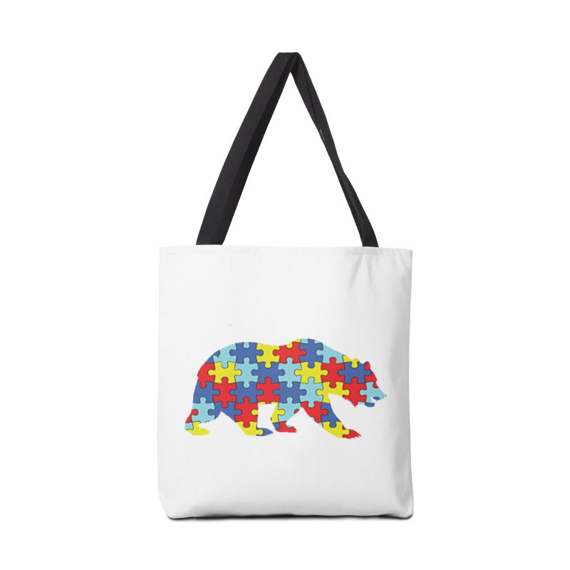 California Bear Accessories Tote Bag Bag by Coachella Valley Autism Society of America