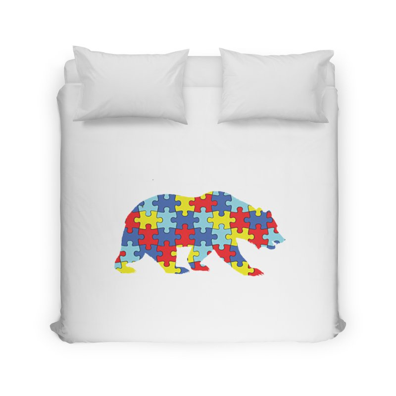 California Bear Home Duvet by Coachella Valley Autism Society of America