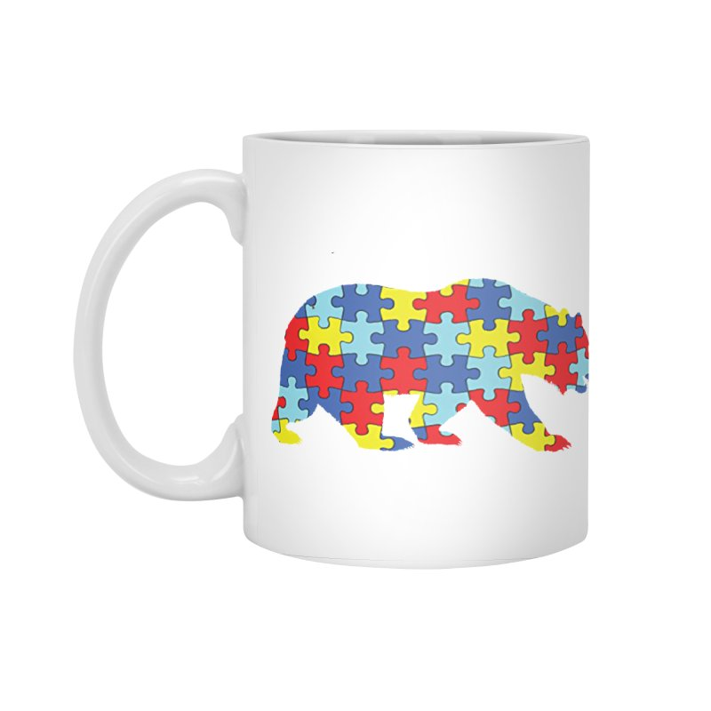 California Bear Accessories Standard Mug by Coachella Valley Autism Society of America