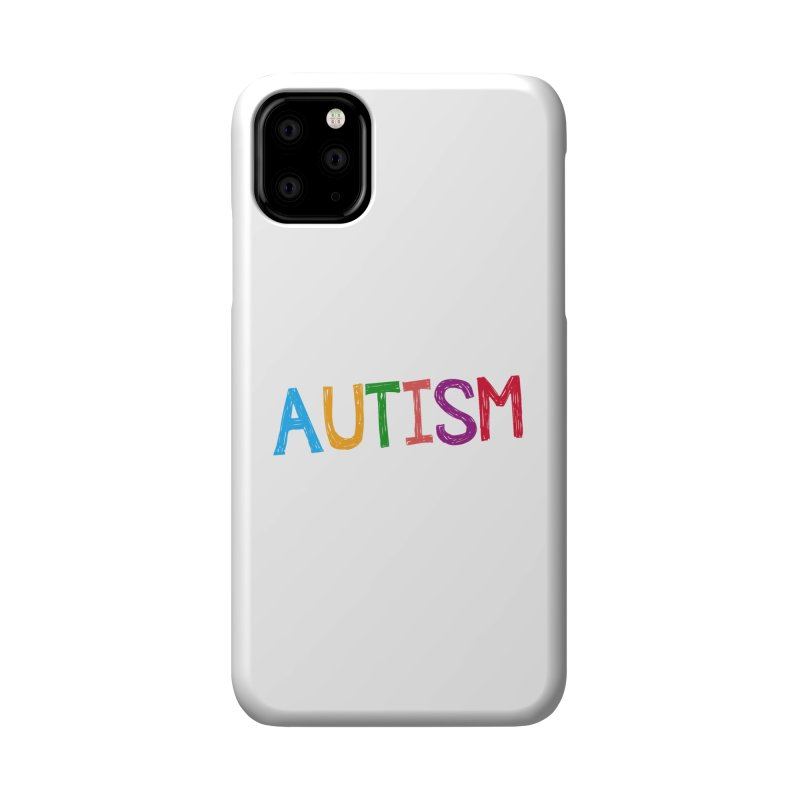 Marker Letters Accessories Phone Case by Coachella Valley Autism Society of America