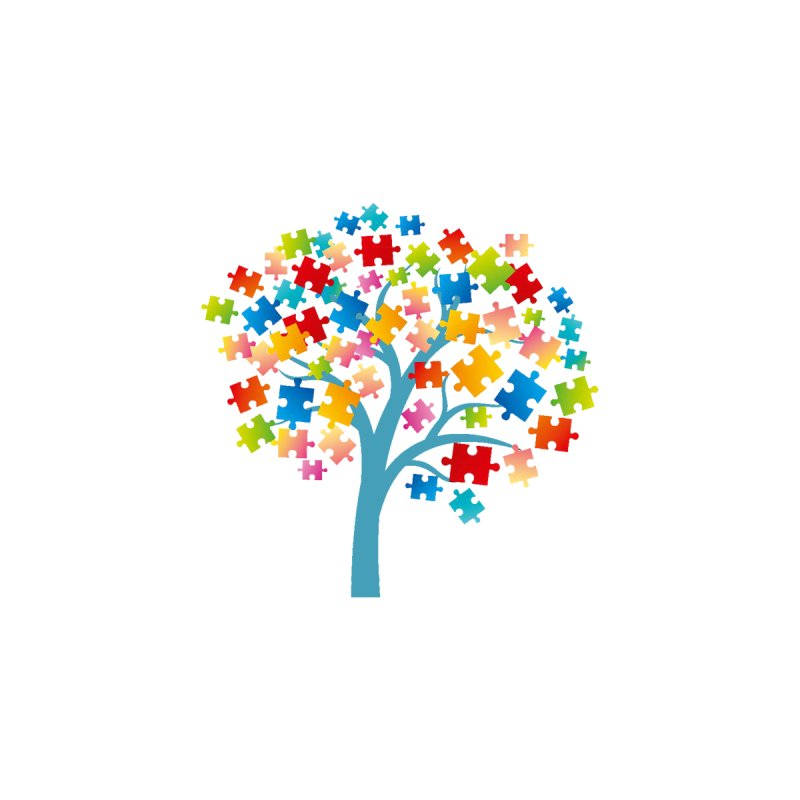 Puzzle Tree by Coachella Valley Autism Society of America