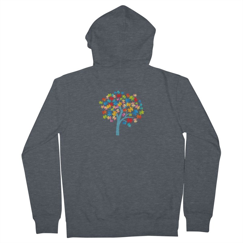 Puzzle Tree Women's French Terry Zip-Up Hoody by Coachella Valley Autism Society of America