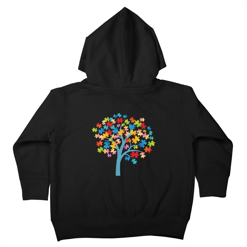 Puzzle Tree Kids Toddler Zip-Up Hoody by Coachella Valley Autism Society of America