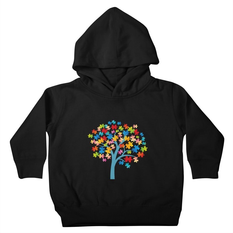 Puzzle Tree Kids Toddler Pullover Hoody by Coachella Valley Autism Society of America