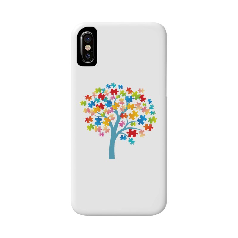 Puzzle Tree Accessories Phone Case by Coachella Valley Autism Society of America