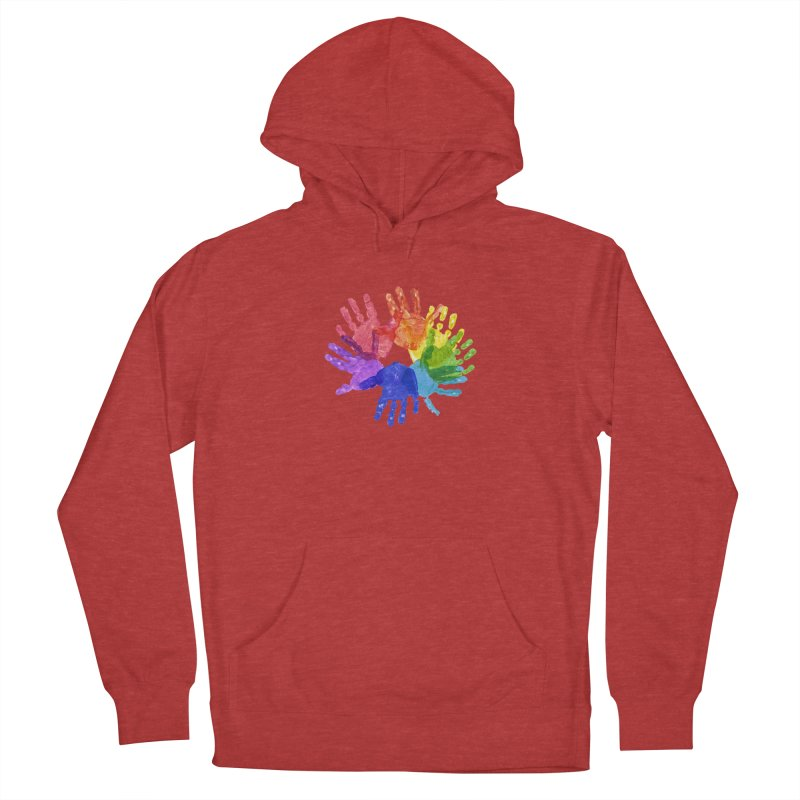 Paint Hands Women's French Terry Pullover Hoody by Coachella Valley Autism Society of America