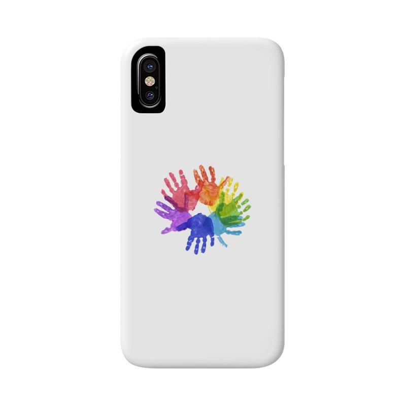 Paint Hands Accessories Phone Case by Coachella Valley Autism Society of America