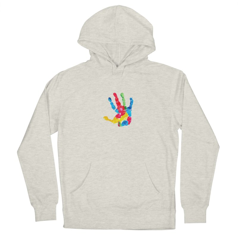 Hand Paint Women's French Terry Pullover Hoody by Coachella Valley Autism Society of America
