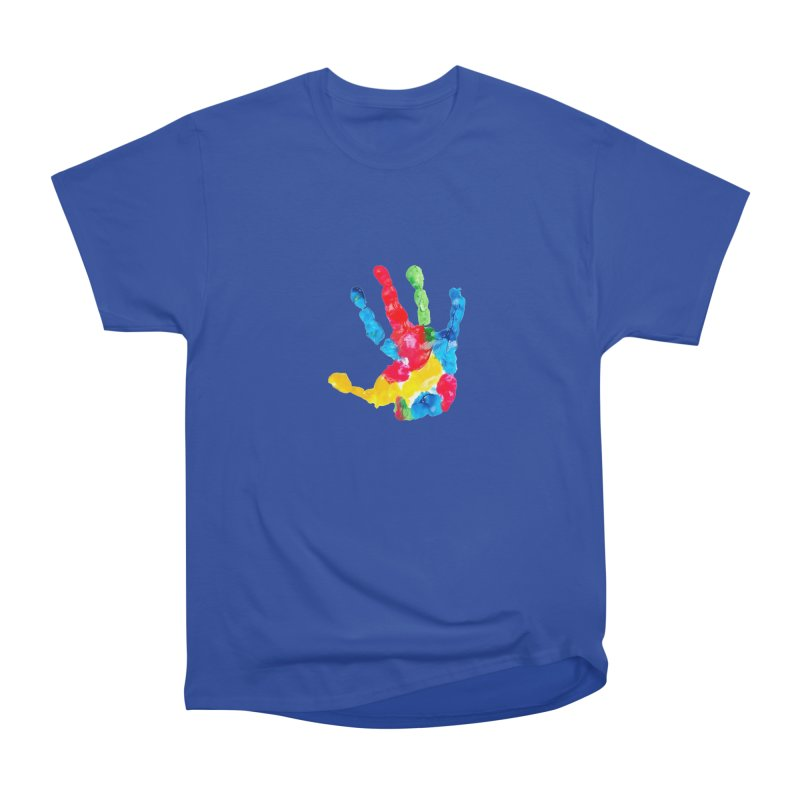 Hand Paint Women's Heavyweight Unisex T-Shirt by Coachella Valley Autism Society of America
