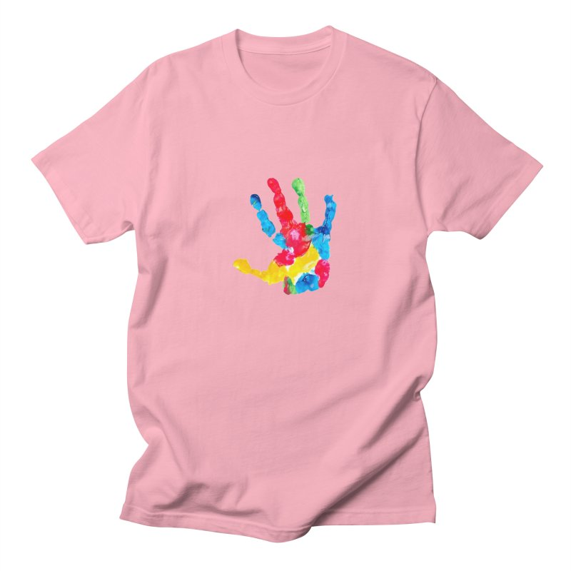 Hand Paint Women's Regular Unisex T-Shirt by Coachella Valley Autism Society of America