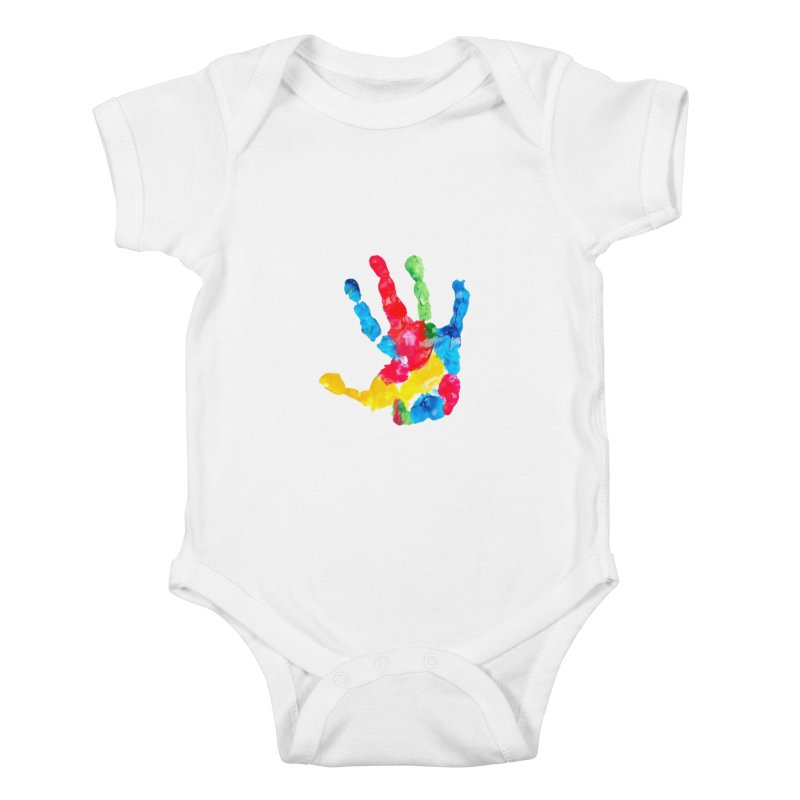 Hand Paint Kids Baby Bodysuit by Coachella Valley Autism Society of America