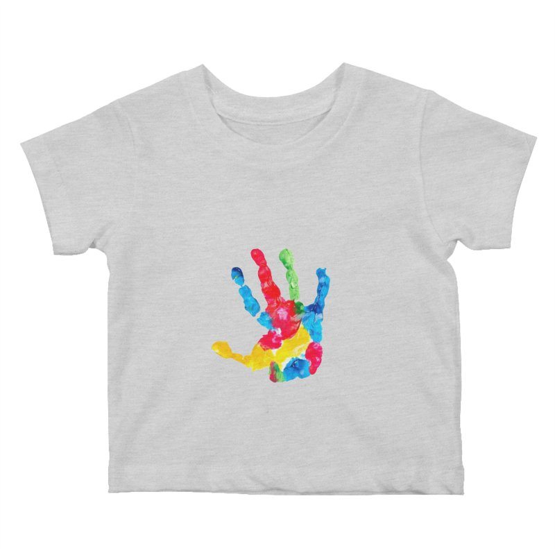Hand Paint Kids Baby T-Shirt by Coachella Valley Autism Society of America