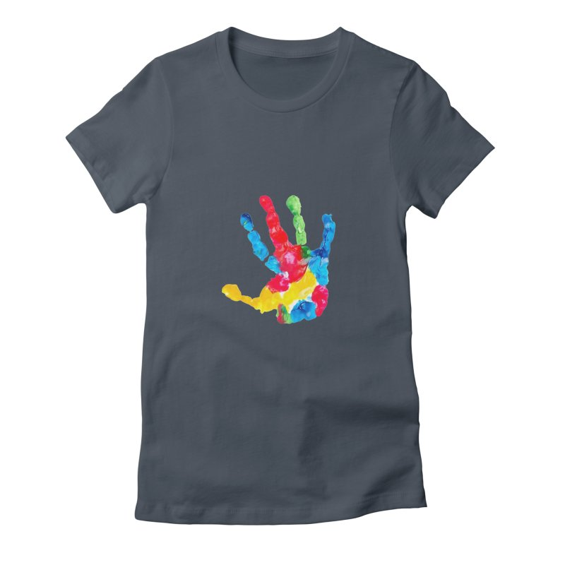 Hand Paint Women's T-Shirt by Coachella Valley Autism Society of America