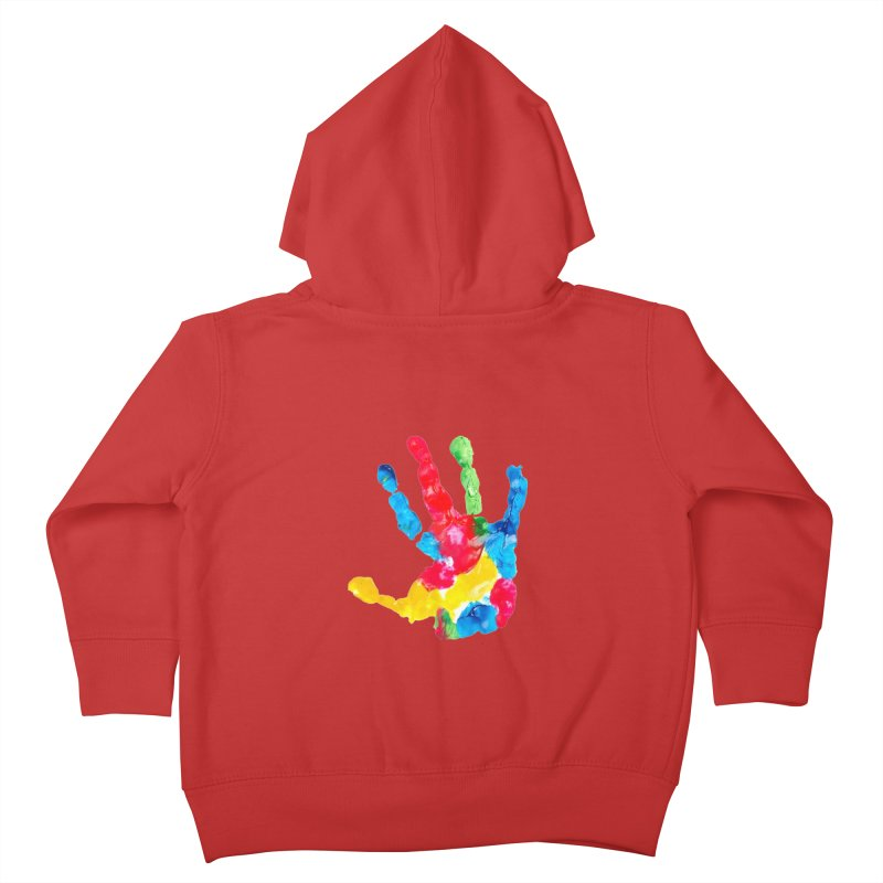 Hand Paint Kids Toddler Zip-Up Hoody by Coachella Valley Autism Society of America