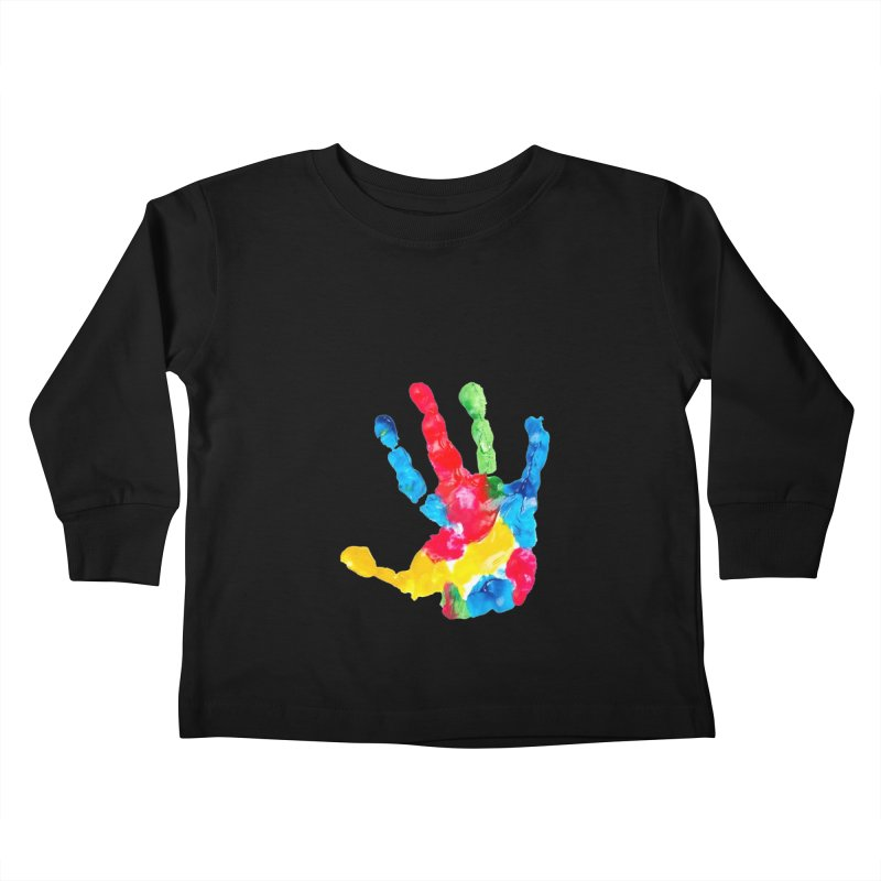 Hand Paint Kids Toddler Longsleeve T-Shirt by Coachella Valley Autism Society of America
