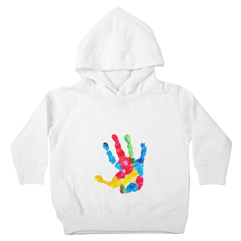 Hand Paint Kids Toddler Pullover Hoody by Coachella Valley Autism Society of America